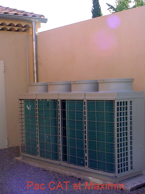 Installation de pompe à chaleur à Brignoles dans le Var (83)