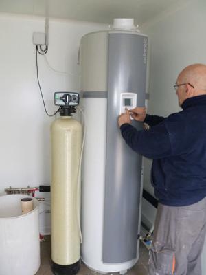 Installation d'un chauffe eau thermodynamique dans le Var