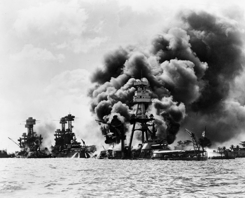 US warships attacked and destroyed
