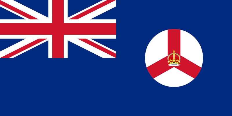 Old Singapore flag