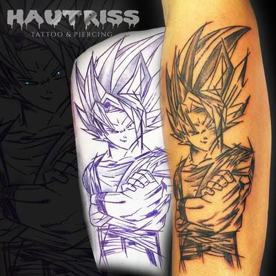 Manga-Tattoo, Comic-Tattoo