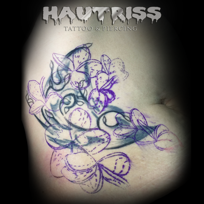 Cover-Up-Tattoo, Entwurf neues Motiv