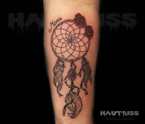 Traumfänger-Tattoo