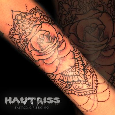 Mandala-Rose-Tattoo