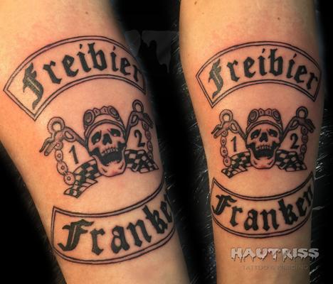 Tattoo Wappen, Freibier
