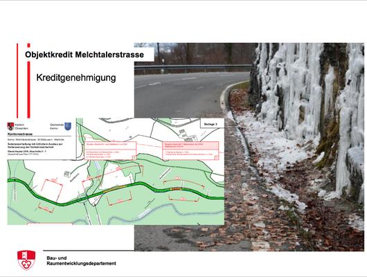 Objektkredit Melchtalerstrasse - Kreditgenehmigung