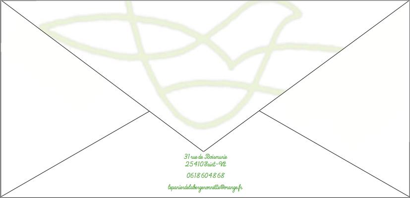 Le verso de l'enveloppe