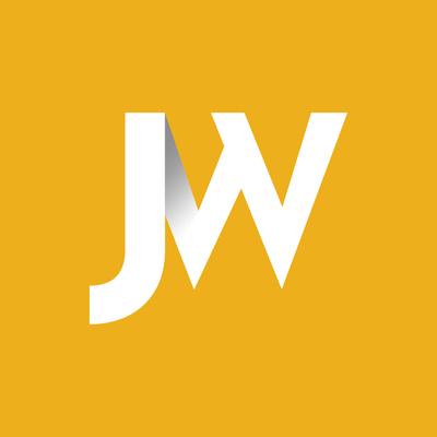 Logo concept for JW Construction created by Design By Pie, Freelance Graphic Designer, North Devon