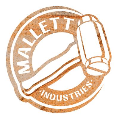 Mallette Industries logo design by Design By Pie, Freelance Graphic Designer, North Devon