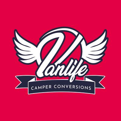 Van Life Camper Conversions logo design by Design By Pie, Freelance Graphic Designer, North Devon