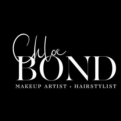 Chloe Bond make-up artist logo design by Design By Pie, Freelance Graphic Designer, North Devon