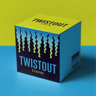 Twistout Studios logo design by Design By Pie, Freelance Graphic Designer, North Devon