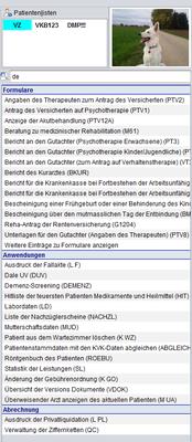 abasoft EDV-Programme GmbH Suche intelligente Suchfunktion Vereinfachung EVA elektronisch verwaltete Arztpraxis