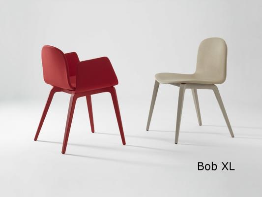 Bob XL  silla comedor diseño sillon moderno   madera tapizada ondarreta  Barcelona lacadira.com