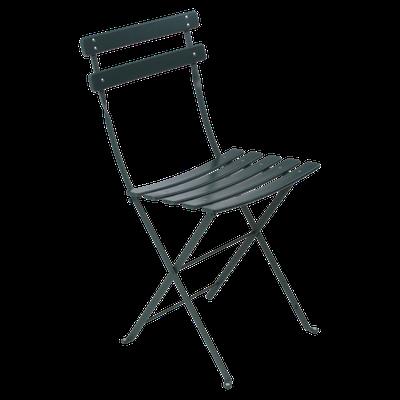 Bistro silla plegable de terraza metálica fermob