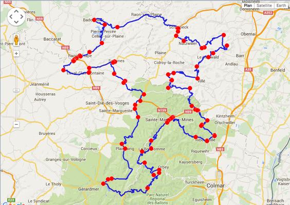 Jour 3: LeBonhomme-LeBohomme, 350 kms