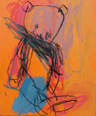 Oh Tannenbaum 1, 70x60cm. acrylic on canvas