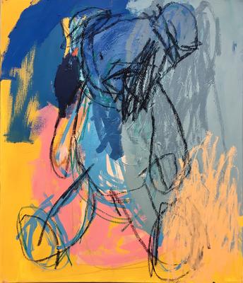 Oh Tannenbaum 3, 70x60cm. acrylic on canvas