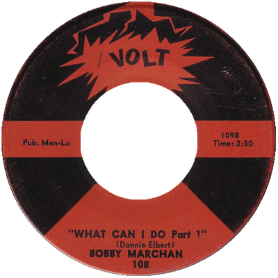 Bobby Marchan - What Can I Do Part.01