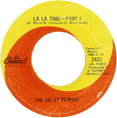 The Funky Soul story - The Salty Peppers - La La Time (1969)