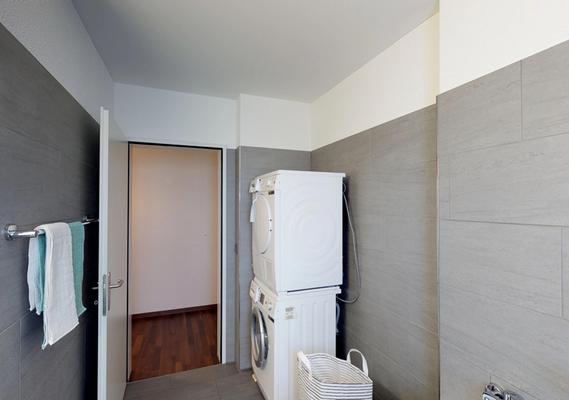 Waschturm in der Wohnung
