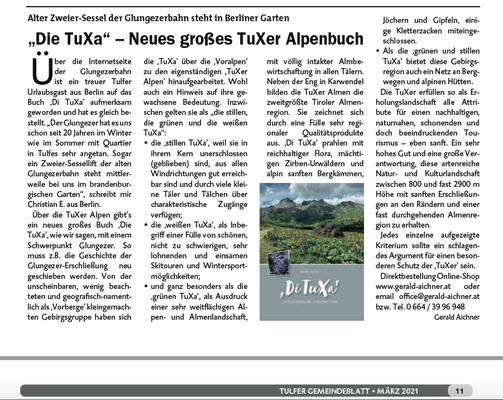 Tulfer gemeindeblatt März 2021