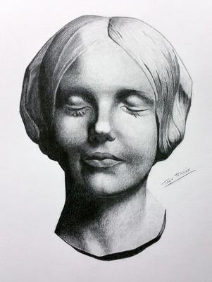 Grafito 40 x 30 cm. Tony Terrón (Alumna de 1º año).