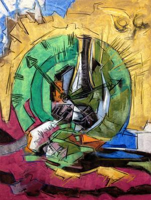 Las dos menos diez, Copia de Simancas, pastel 65 x 50 cm. Diony Sayago (Alumna de 2º año)