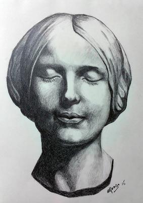 Grafito 40 x 30 cm. Alfonso Rodríguez (Alumno de 1º año).