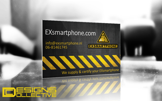 business card exsmartphone
