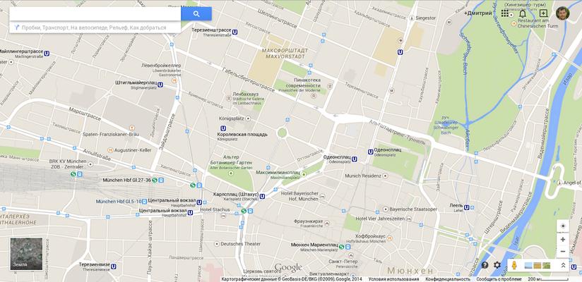Вот так выглядит центр города. Вроде бы несложно обойти все основные пункты по этой карте, но порой...