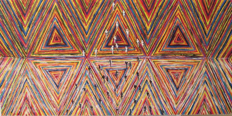 Bild Nr 151 (100x50x3,8 cm)