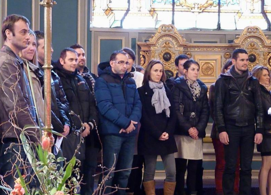 Messe des fiancés - St melaine