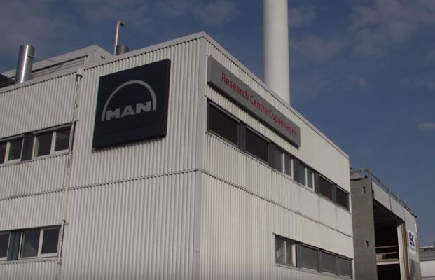 Blick auf das Versuchszentrum in Kopenhagen
