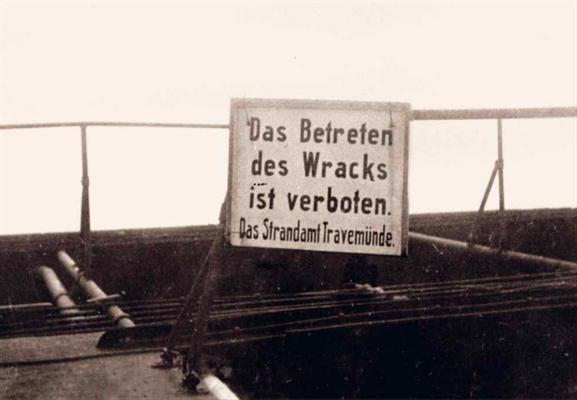 Betreten verboten (Quelle  KZ-Gedenkstätte Neuengamme)