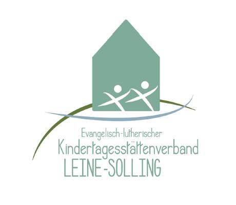 """Logo """"Ev. luth. Kindertagesstättenverband Leine-Solling, 2016"""