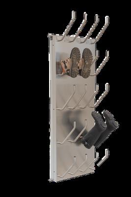 Schuhtrockner 10er mit Absaugung für Gummistiefel