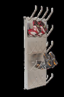 Schuhtrockner 10er mit Absaugung für Skischuhe
