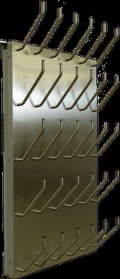 Schuhtrockner elektrisch beheizt mit Gebläse, Absaugung oder Warmwasseranschluss von 5 bis 20 Paar
