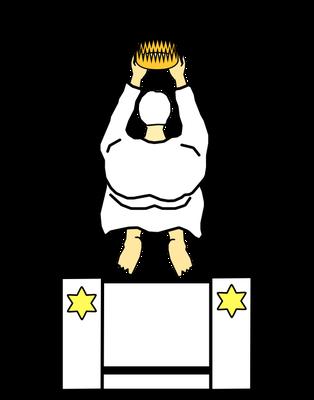 Ces Rois et Prêtres seront au service de Dieu. Ces Rois et Prêtres règneront sur la terre pour notre Dieu.