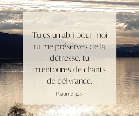 Psaumes 10 :17 : « Tu entends les désirs de ceux qui souffrent, Éternel, tu leur redonnes courage, tu prêtes l'oreille. »