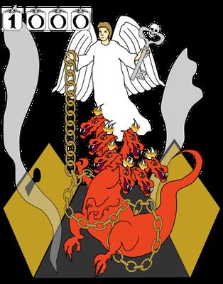 Le chapitre 20 de l'Apocalypse est composé de 15 versets répartis en 4 parties bien distinctes. Satan, le dragon est enchaîné pour 1000 ans.