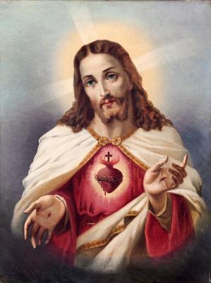 Les religions chrétiennes corrompues ont voulu représenter Jésus sous des traits enfantins, efféminés, avec l'air timoré et bonasse ce qui ne correspond en rien à la vraie personnalité du Christ.