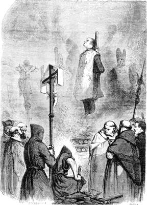 L'Eglise, alliée aux autorités politiques, gagne en pouvoir et s'impose comme seul intermédiaire entre Dieu et les hommes. Un clergé de plus en plus tyrannique voit le jour. L'Inquisition va durer 6 siècles (de 1231 jusqu'au XIXème siècle).