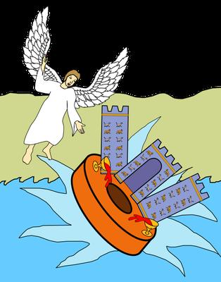 Babylone la grande disparaîtra en une seule heure avec la même violence qu'une grande meule jetée dans la mer. Babylone la grande, l'empire mondial de la fausse religion, va disparaître brutalement, à la grande surprise de tous. Les rois seront surpris.