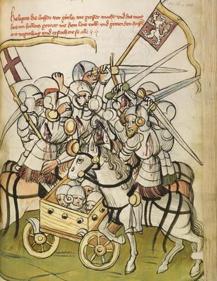 Les Hussites vont résister avec acharnement à 5 croisades (croisades hussites) lancées contre eux à l'initiative du pape et avec le soutien de l'empereur Sigismond de Luxembourg (empereur de l'empire romain germanique et roi de Bohème)