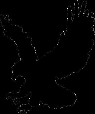 Les 4 qualités représentées par 4 visages différents sur les 4 chérubins présents devant le trône du Tout-Puissant, sont appelées aussi les 4 attributs de Dieu. L'aigle symbolise la perspicacité et la sagesse.
