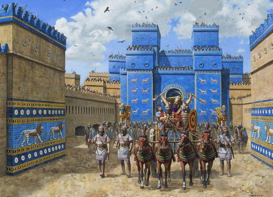 La domination des rois néo-babyloniens a débuté avec le roi Nabopolassar allié aux Mèdes, quand il a vaincu le dernier bastion assyrien en 609 av J-C et s'est terminée exactement 70 ans plus tard, en 539 av J-C, lors de la prise de Babylone par les Perses
