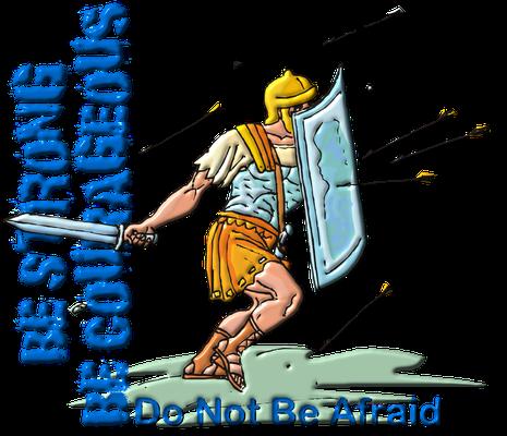 Afin d'affronter les difficultés de la vie et les ruses sataniques, la Bible nous encourage à revêtir l'armure de Dieu. La foi est comparée à un bouclier qui arrête les projectiles enflammés et destructeurs.