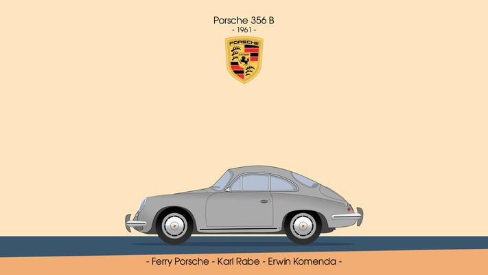 Porsche 356B 1961